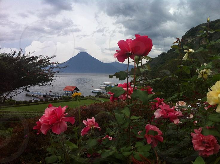 Guatemala and it's volcanoes.  photo