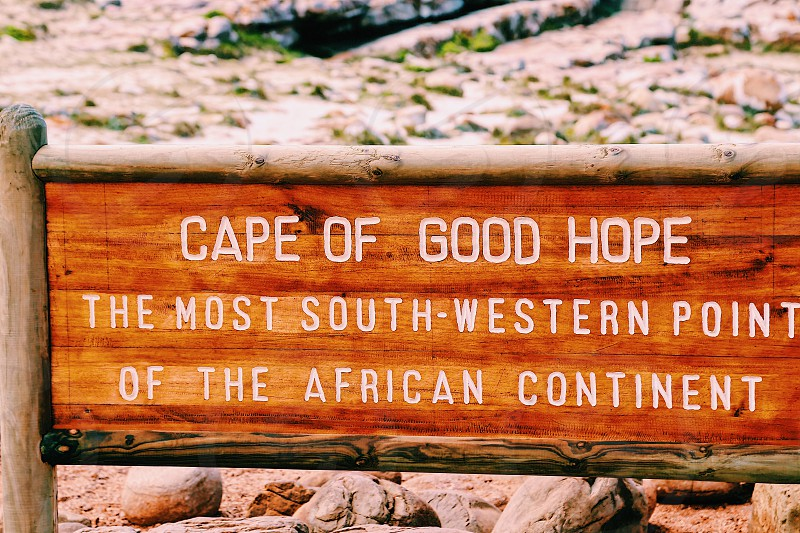 Cape of Good Hope Africa continent south South Africa  photo