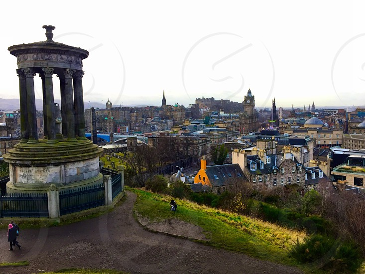 Calton Hill Edinburgh photo