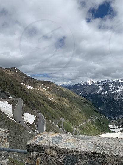 Mountains landscape alps peaks travel photo