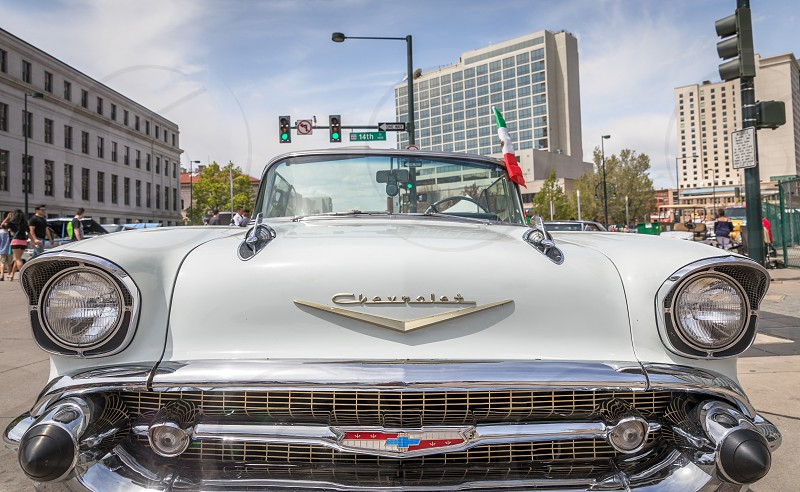 Car parade during the Cinco de Mayo celebrations in Denver photo