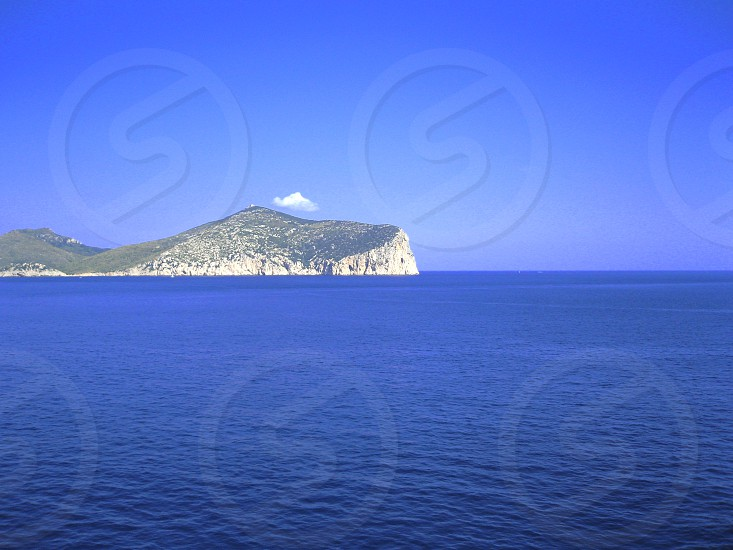 View on Sardinia Italy photo