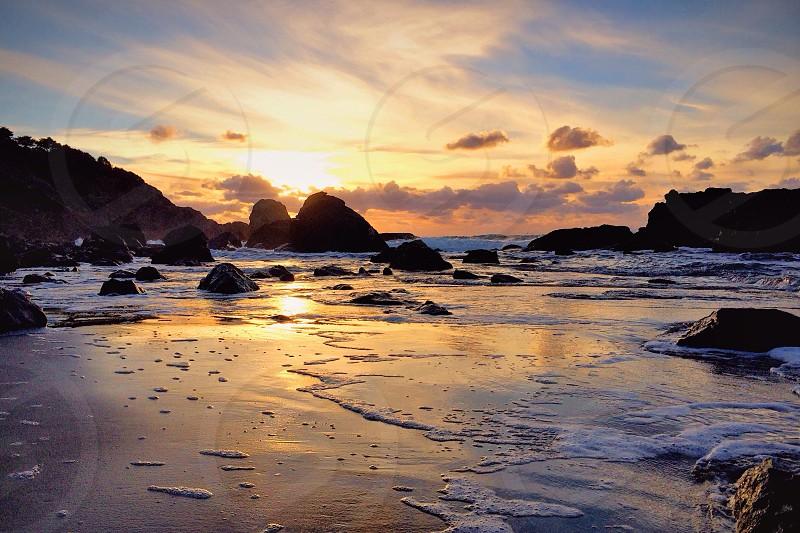 beach view photo photo