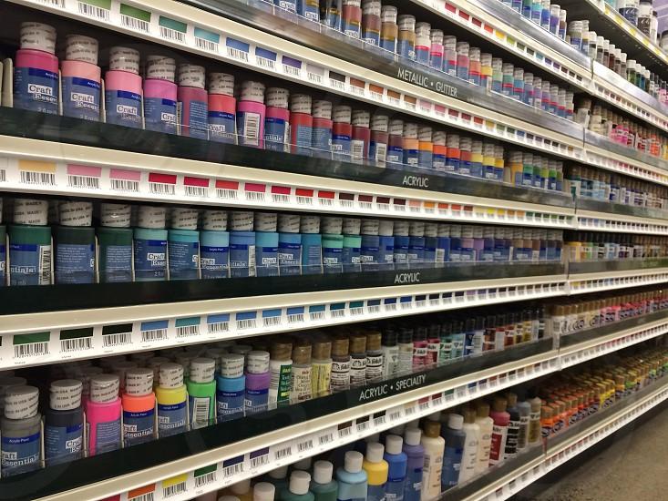 Paint isle photo