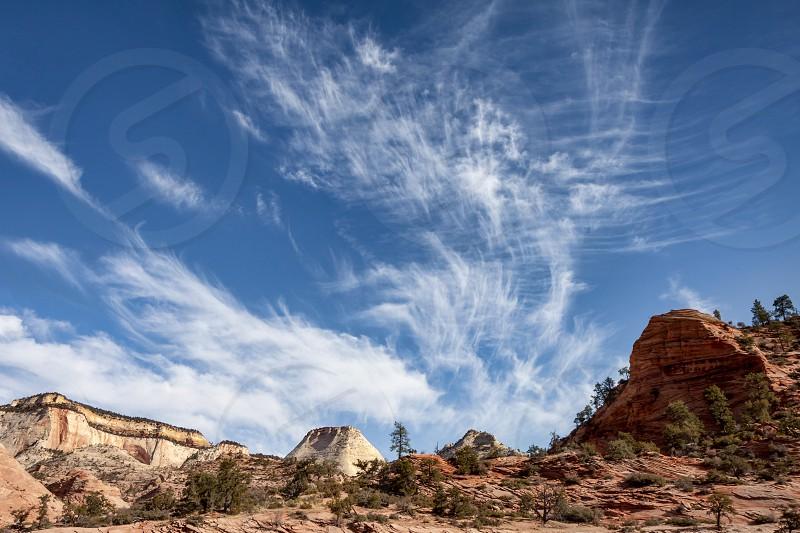 Zion Cloudscape photo