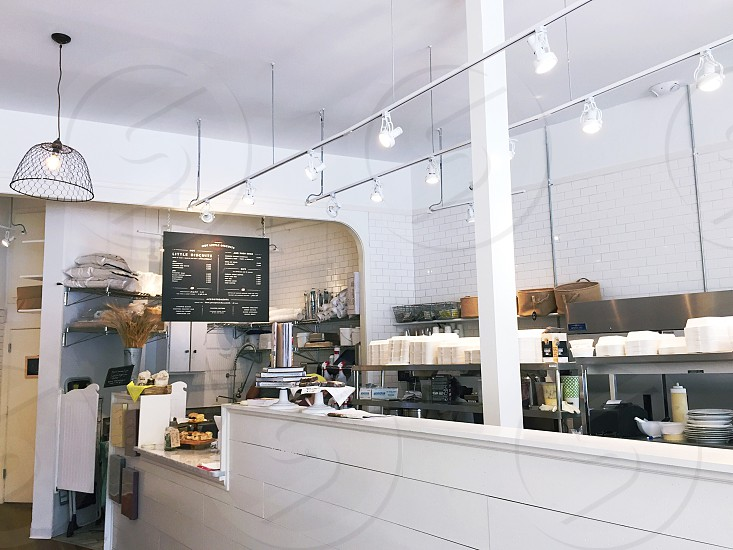 interior design of a restaurant photo