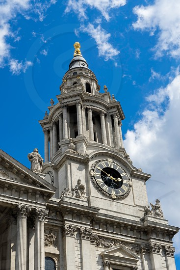 View of St Paul's Cathedral photo