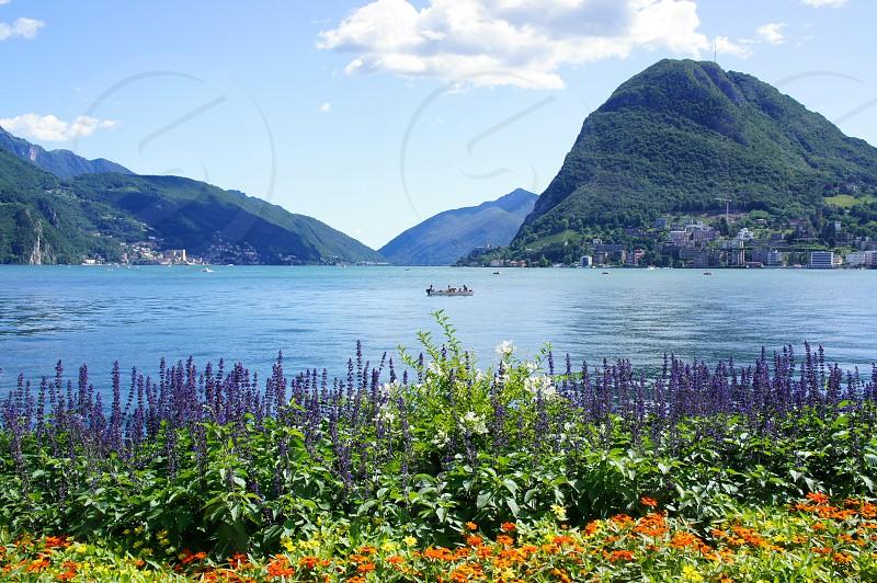Lake Como Italy photo