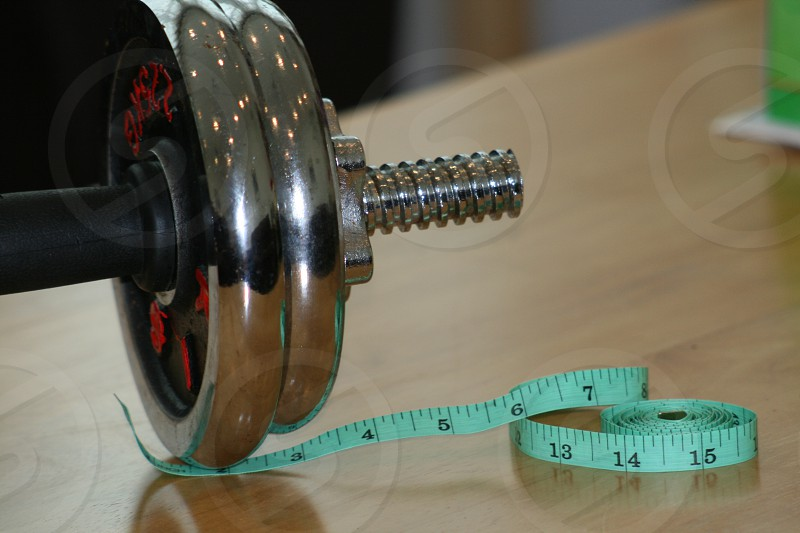 Weight fitness meter number size photo