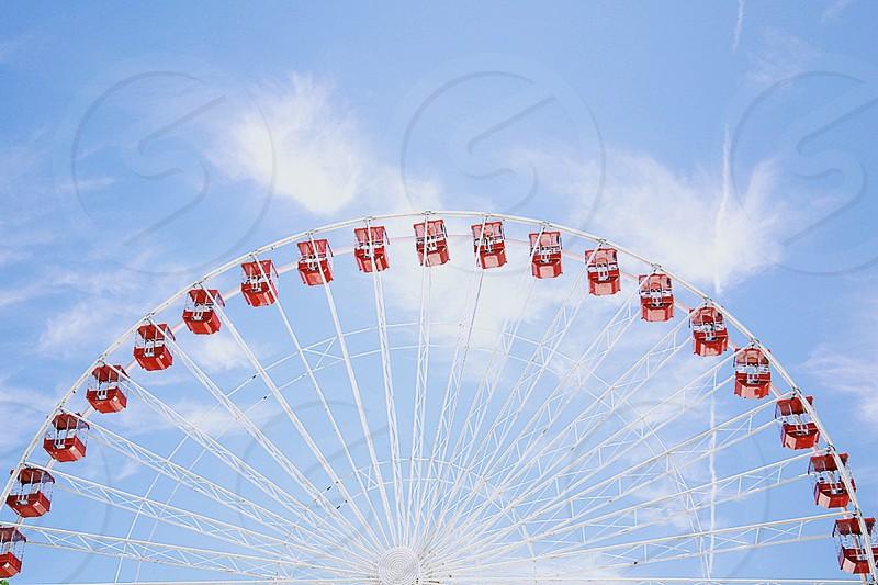Around we go (Ferris Wheel at Navy Pier) photo