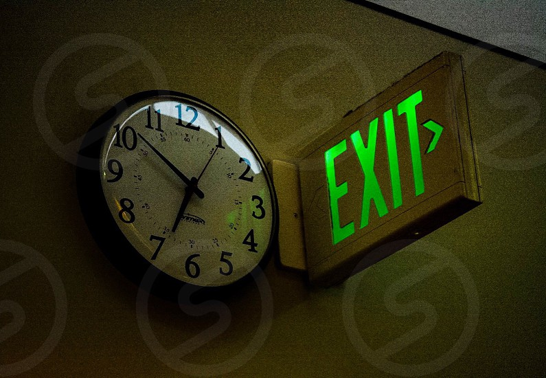 Clocktimeexit photo