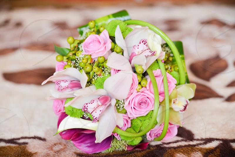 wedding flower bouquet photo