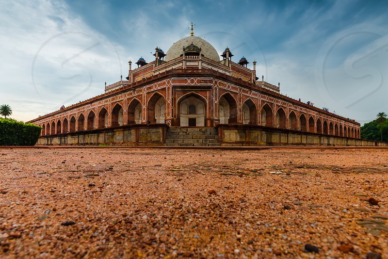 Humayun's Tomb a work of persian architecture and a UNESCO World Heritage Site photo