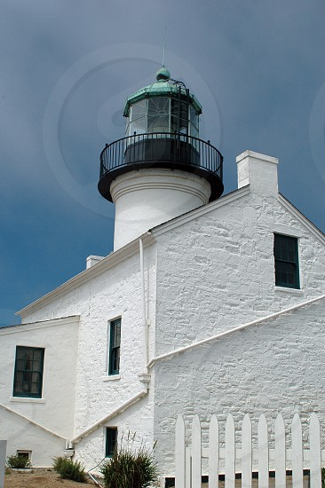 The Point Loma Lighthouse in San Diego California photo