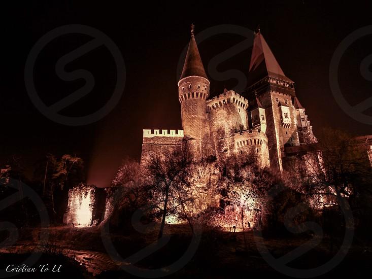 Hunyad Castle.Transilvania photo