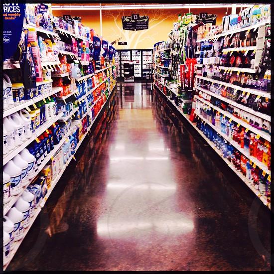 American supermarket photo