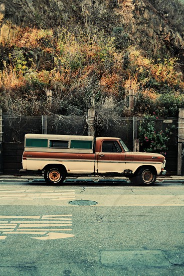 Beautiful decaying truck San Francisco photo