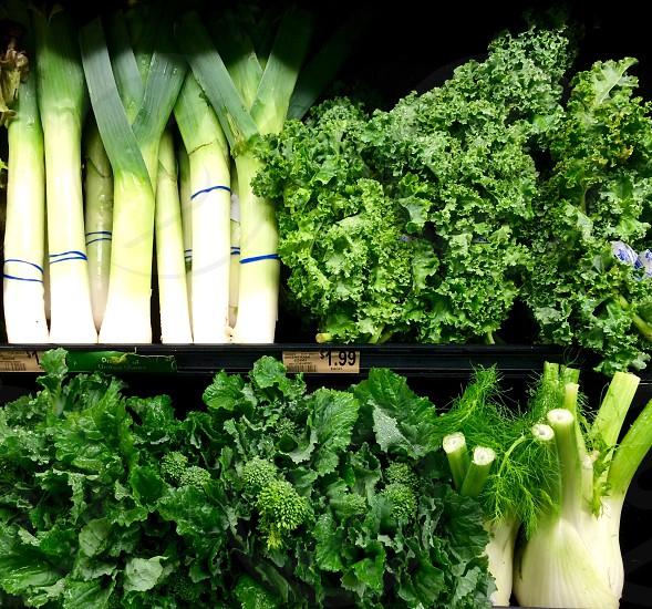 green pechay photo
