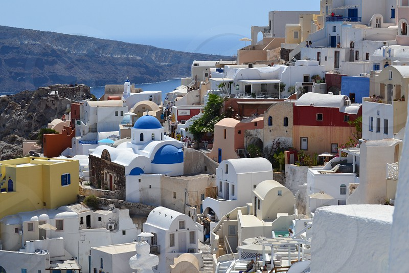 Oia Santorini photo