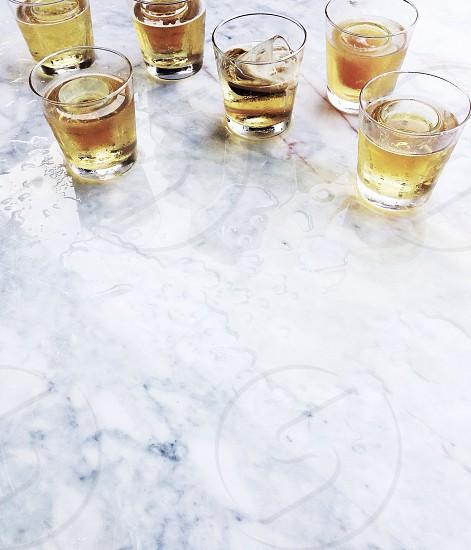 clear shot glass photo