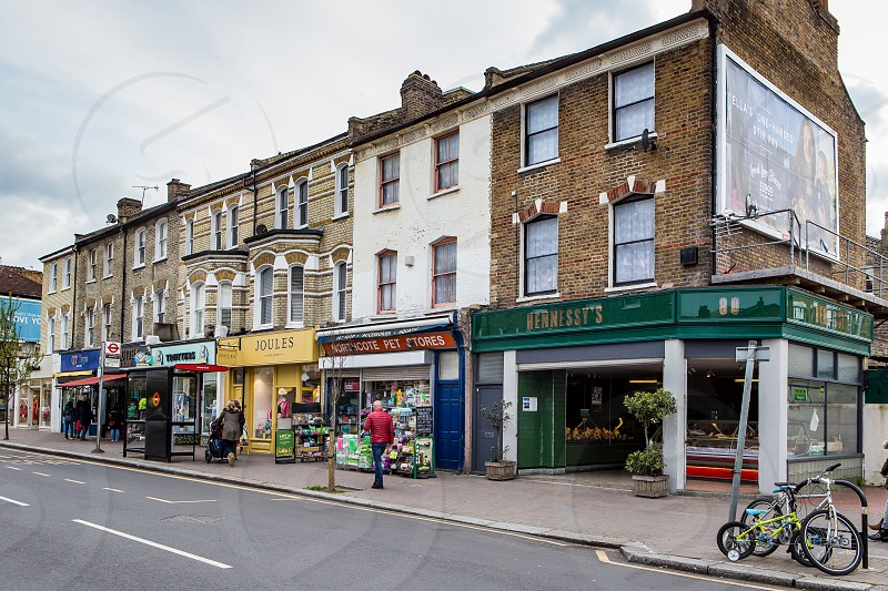 Northcote Road Battersea London photo