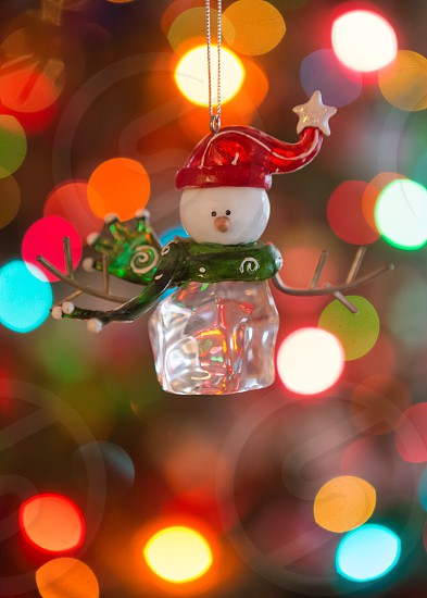 Snowman ornament  photo