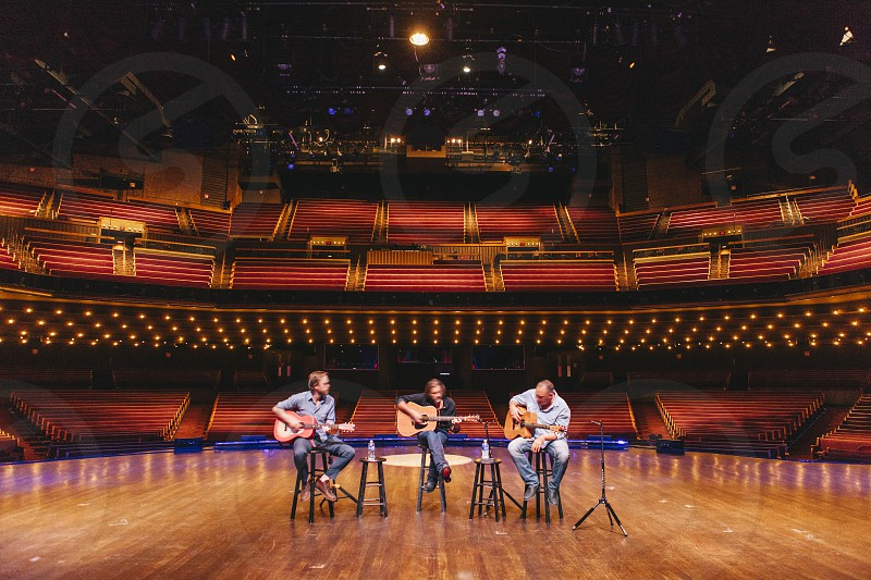 Private concert from the stage of the Grand Ole Opry in Nashville TN photo