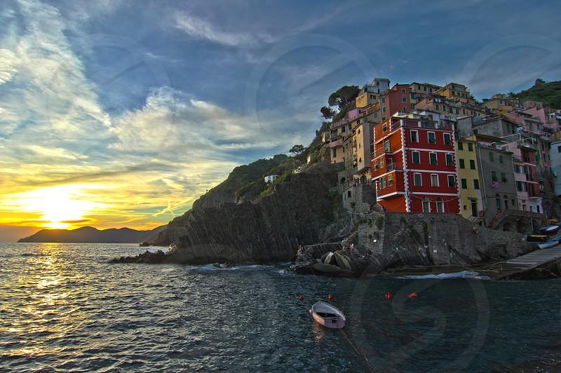One of Italy's hidden gems Riomaggiore.  photo