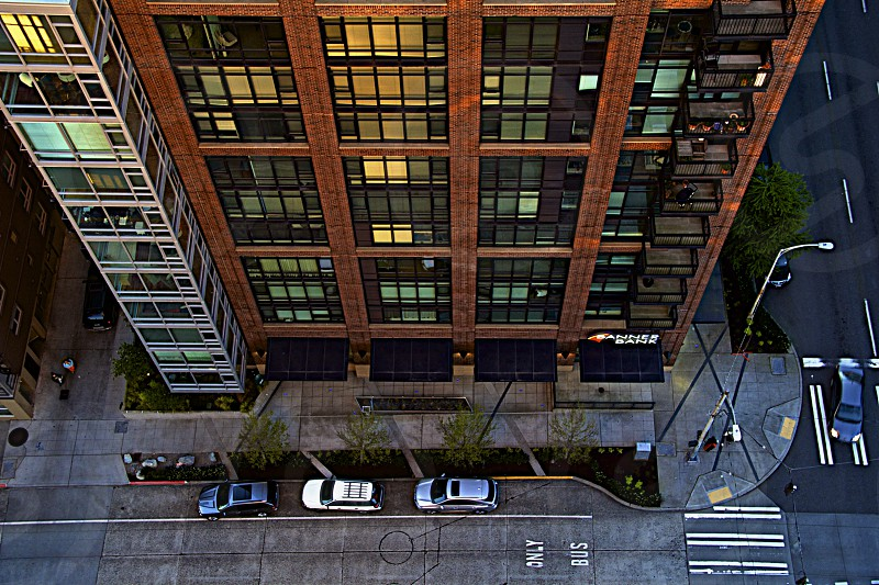 City Streets in Seattle photo