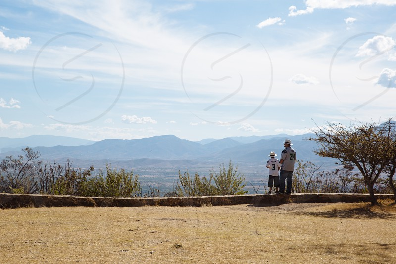 family travel mexico mountains  photo