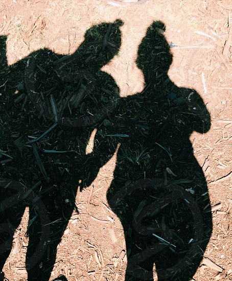 shadow of person photo