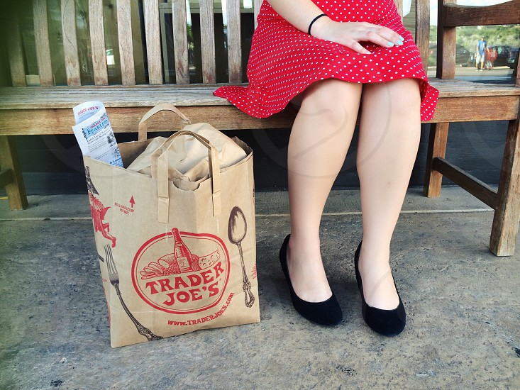 Trader joes- grocery day photo