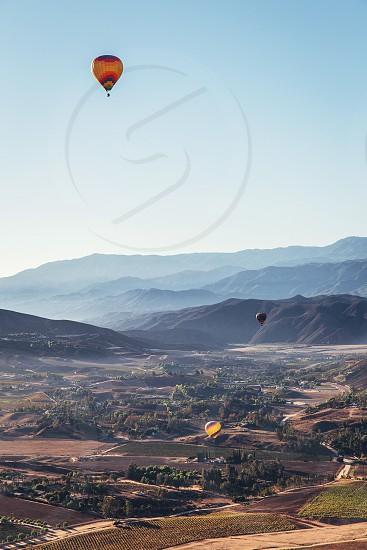 Temecula California hot air balloon photo