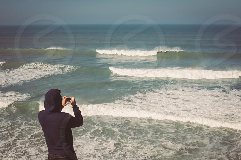 black hoodie photo