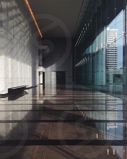 building interior hallway photo