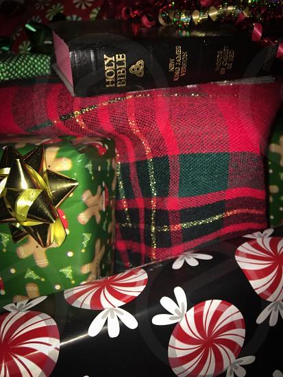 KJV Bible Christmas  photo