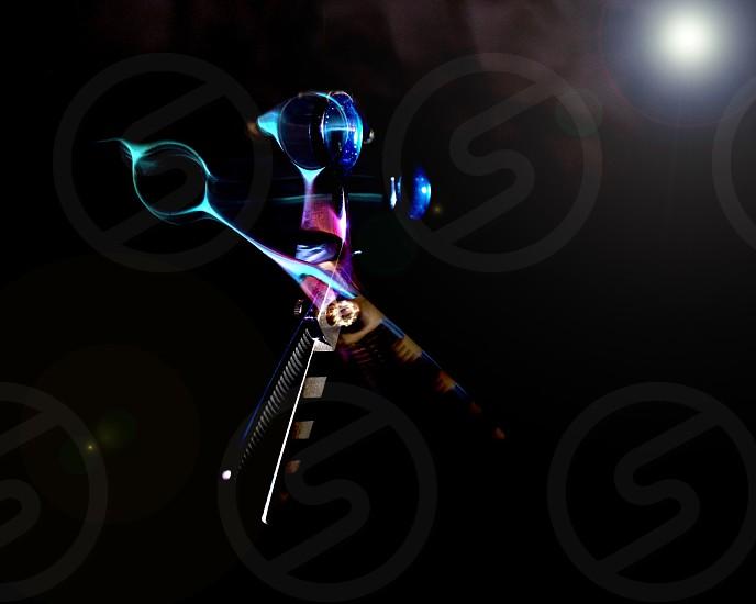 Scissor ballet the art of movement Series by Gabe Vigil! photo