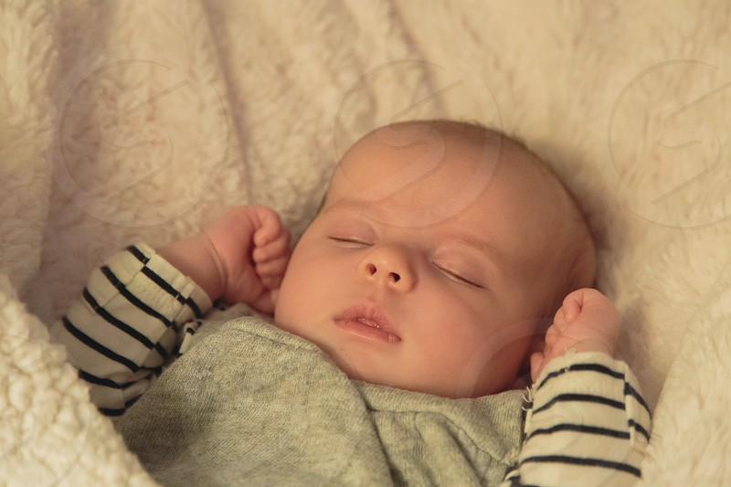 Nap time photo
