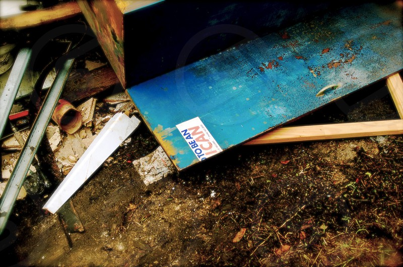 Nola New Orleans Katrina America decline disaster rust photo
