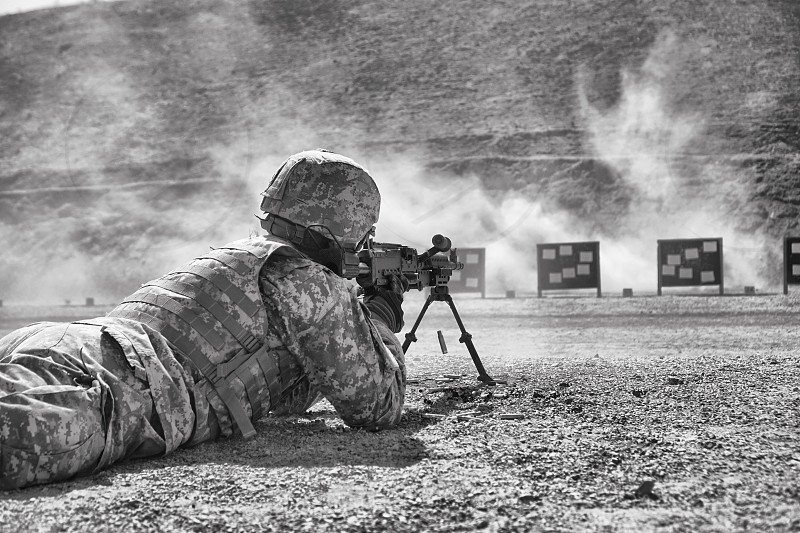 Army m16 POV qualifying  photo