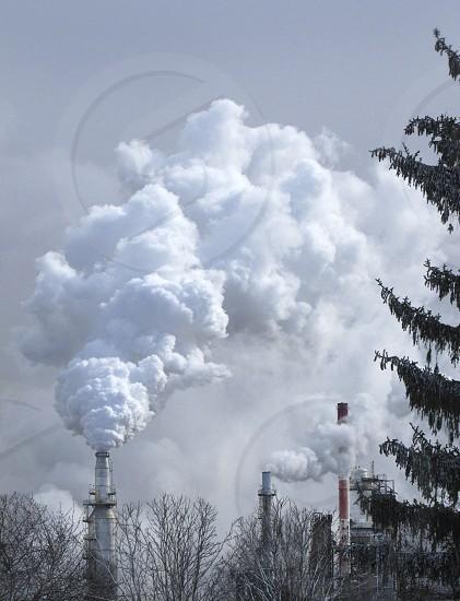 Industrial Landscape in Toledo Ohio photo