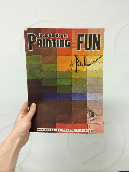 how to begin painting fun by fedelle photo