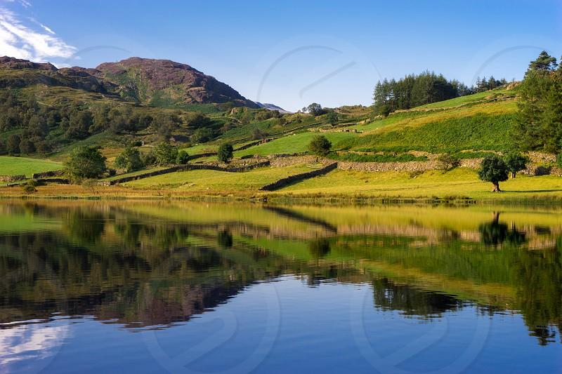 Watendlath Tarn in Cumbria photo