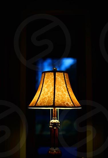 Lamp light evening ambience interior furniture  photo