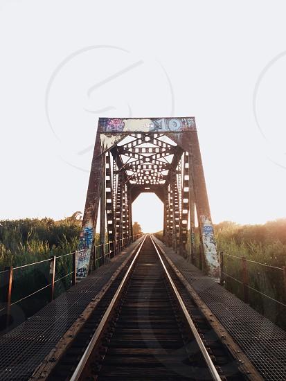 Danger on the tracks  photo