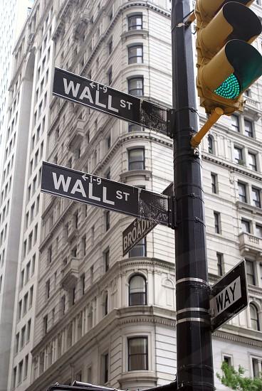 Wall Street NY photo