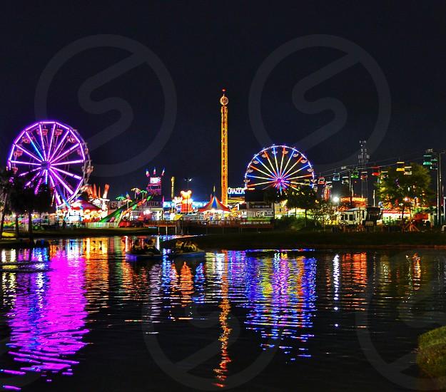 Reflections of the Coastal Carolina Fair 1 photo