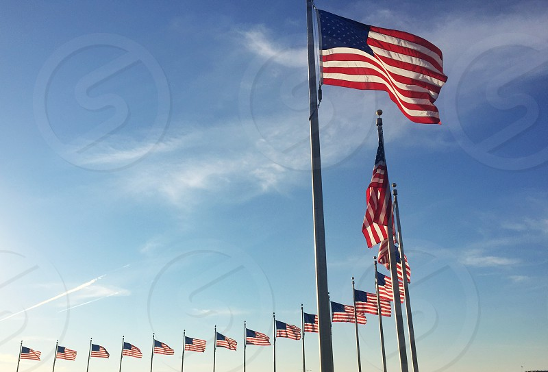 Flags patriotism united states american outdoor  photo