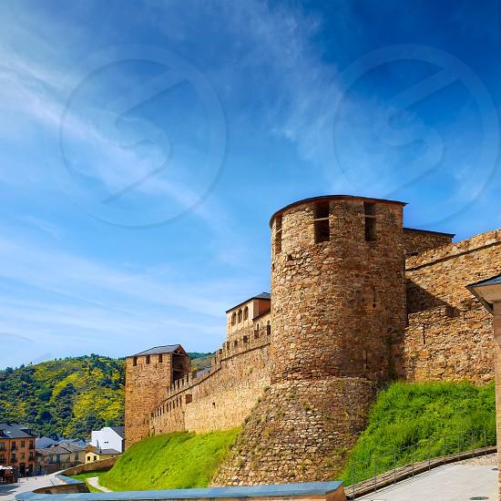 Way of Saint James by Ponferrada Castle El Bierzo of Leon photo