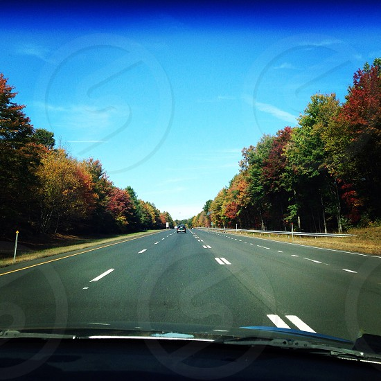Prettiest time of the year for a drive from New England to the Poconos. photo